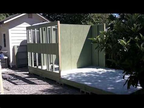 racing pigeon loft constructionwmv youtube