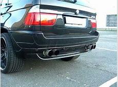 BMW X5 30d Super Hammer Sound E53 Sport Exhaust by