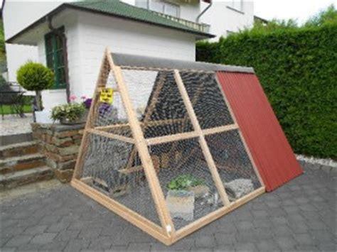 gartengehege bauen meerschweinchenwiese