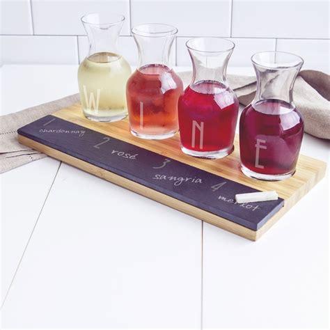 wine rack kitchen island bamboo and slate wine tasting flight board with 39 wine