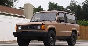 1986 Isuzu Trooper Dlx Turbo Diesel 4x4 2