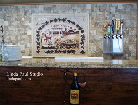 kitchen murals design wall for restaurants and hotels original artwork and 2331