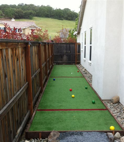 Backyard Bocce Court Dimensions by Artificial Turf Grass Bocce Courts Artificial Grass