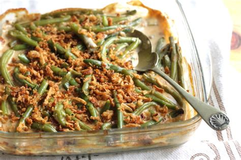 green bean casserole recipe food