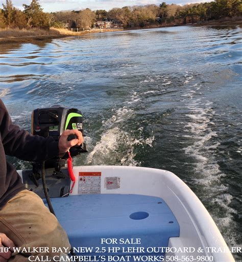 Used Outboard Motors For Sale Cape Cod by 10 Walker Bay Cbell S Boat Works Inc
