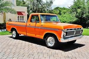 Restored 1977 Ford F100 351 Windsor Engine Automatic