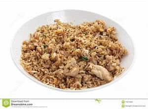Plate Of Fried Rice Stock Photography - Image: 14275302
