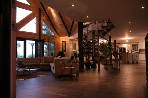 pictures of interiors of homes a modern day log home absolutely timber block