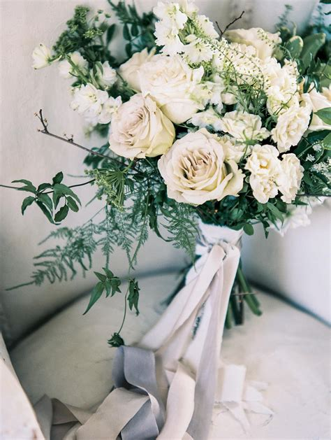 romance in soft neutrals styled shoot white roses