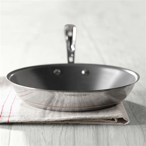 clad copper core nonstick frying pan williams sonoma au