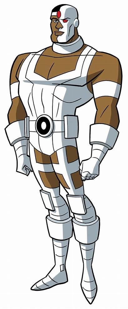 Justice Cyborg League Dcau Deviantart Roll Call
