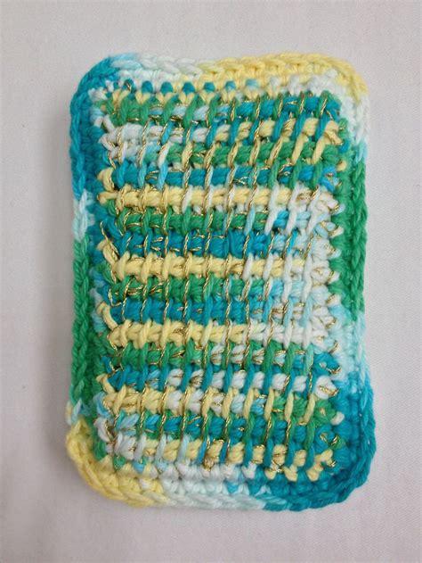 super duper kitchen sponges by hook candy free crochet