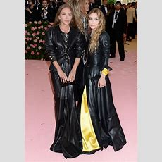 Ashley Olsen And Marykate Olsen  2019 Met Gala