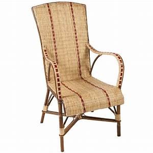 Fauteuil Haut Dossier : fauteuil en rotin haut dossier bagatelle fauteuil rotin kok maison ~ Teatrodelosmanantiales.com Idées de Décoration