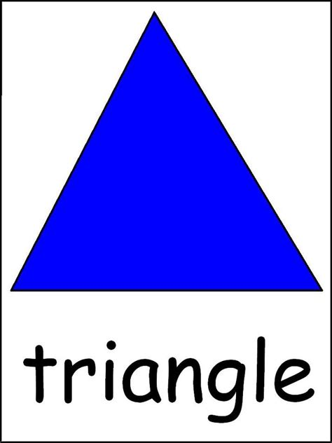big triangle template printable 1000 images about classroom on pinterest stop signs