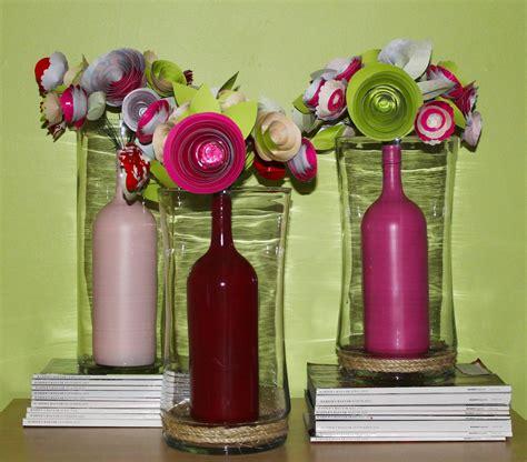 Diy How To Make A Beautiful Paper Flower Centerpiece