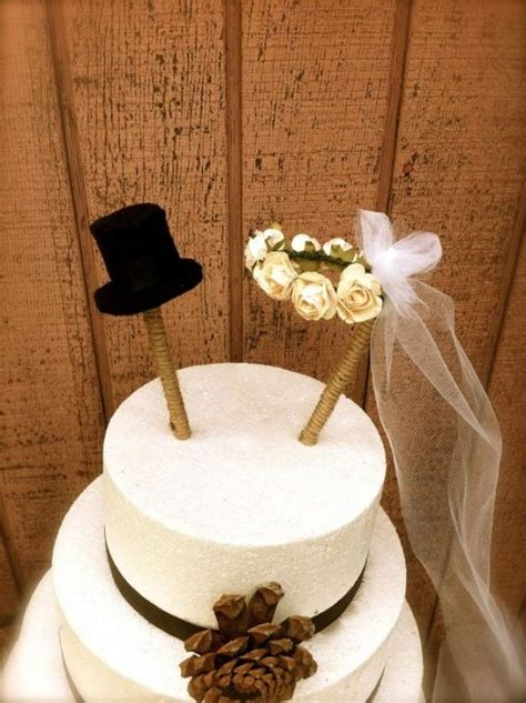 rustic wedding cake topper country fall weddings 2040221
