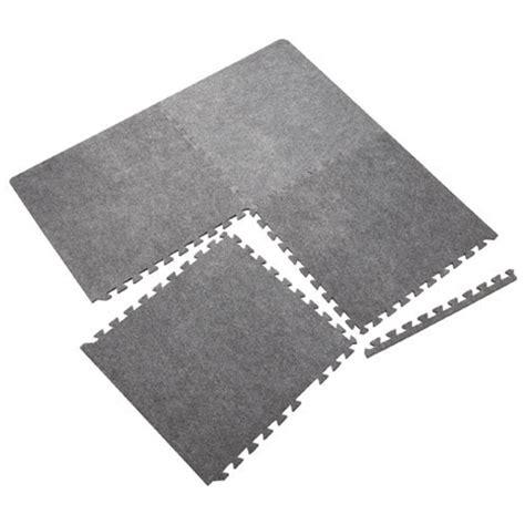 tapis casse tte en mousse ensemble de 4 tapis en mousse rona