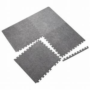 Revetement Mousse Exterieur : ensemble de 4 tapis en mousse rona ~ Premium-room.com Idées de Décoration