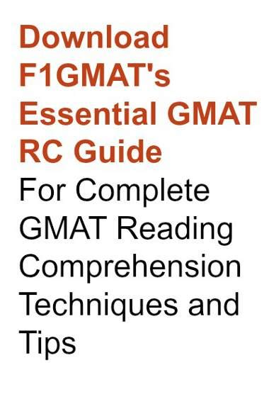How To Answer Gmat Reading Comprehension Title Question