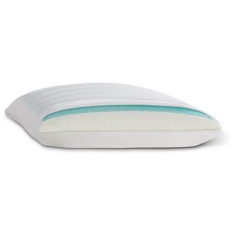 comfort revolution pillow comfort revolution 174 hydraluxe gel memory foam and