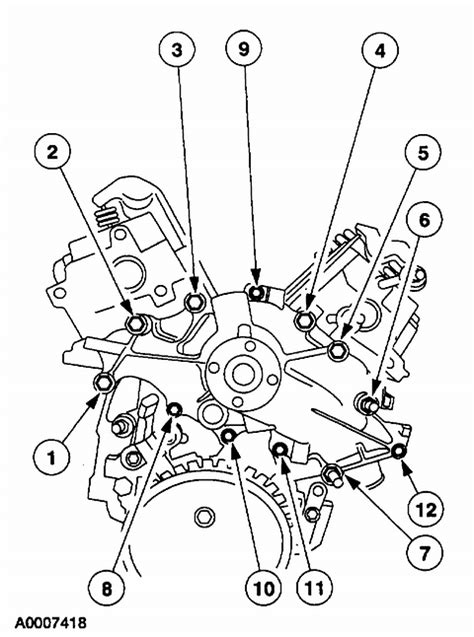 2000 Ford Tauru Waterpump Diagram by I Need The Installation For The Water On