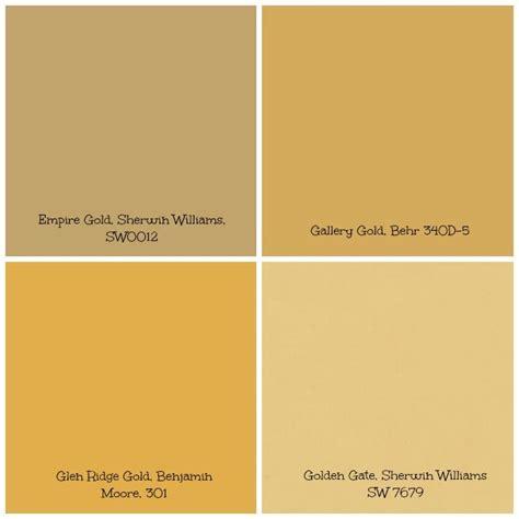 gold colored paint for walls desainrumahkeren