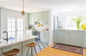 cuisine verte mur meubles electromenager blog deco With cuisine deco design