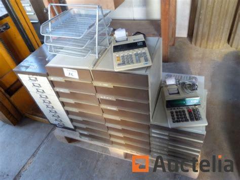 materiel de bureau occasion matériel de bureau bacs à courrier tiroirs