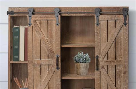 farmhouse sliding door cabinet wooden sliding barn doors storage cabinet