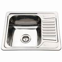 small kitchen sinks Small Top Mount Inset Stainless Steel Kitchen Sinks With Fittings | eBay