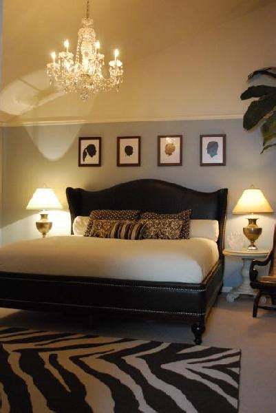 Brown, Cream And Blue Master  Bedroom Designs