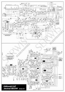 Amstrad Srx300 Sat Receiver Sch Service Manual Download  Schematics  Eeprom  Repair Info For