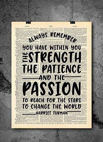 amazoncom harriet tubman strength   passion
