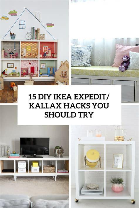 15 DIY IKEA Kallax Shelves Hacks You Could Attempt