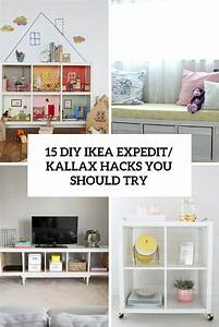 Ikea Kallax Diy : 15 diy ikea kallax shelves hacks you could attempt decor10 blog ~ Orissabook.com Haus und Dekorationen