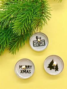 Weihnachtsdeko Zum Selbermachen : weihnachtsdeko selber machen teelichter mit botschaft ~ Orissabook.com Haus und Dekorationen