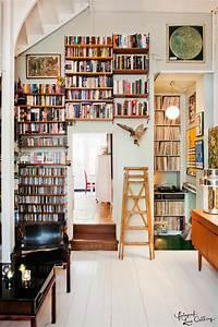10, Stunning, Vintage, Home, Libraries