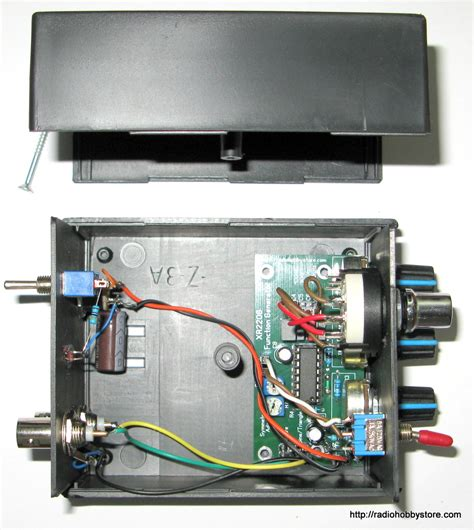 diy electronics xr project  plastic case