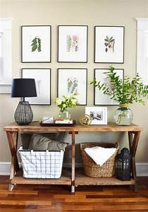 entry decorating ideas