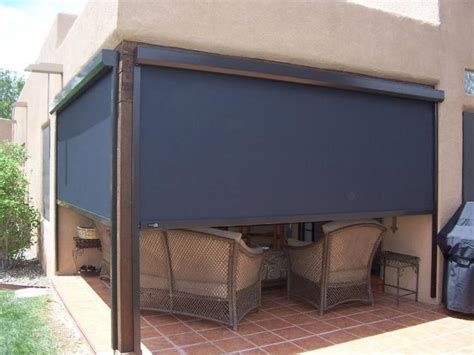 Outdoor Shades For Patio by Enjoy Your View While Blocking The Sun And Wind With