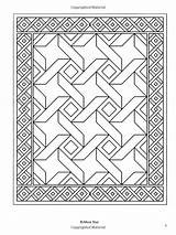 Coloring Books Quilt Patchwork Traditional Designs Pages Adult sketch template
