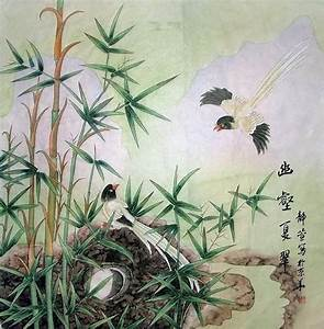 Chinese Bamboo Painting 2702008, 69cm x 69cm(27〃 x 27〃)