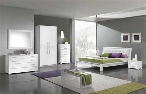 white finish modern bedroom wleatherette headboard options