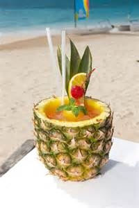 Caribbean Pineapple Drinks