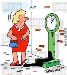 Weight Gain Scale Cartoon
