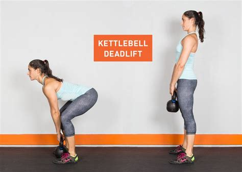 kettlebell exercises deadlift kettle exercise bell ass workouts fitness workout body kick deadlifts clean butt weights greatist press legs training