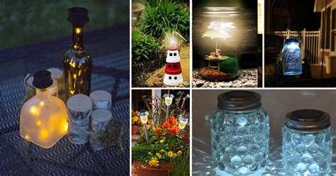 cheap easy diy solar light projects  home garden