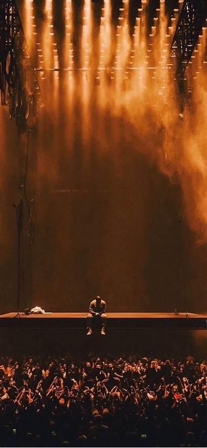 West Kanye Concert Rap Aesthetic Wallpapers Pablo
