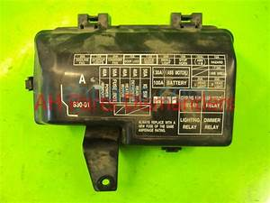 21ef5f Fuse Box 93 Honda Accord